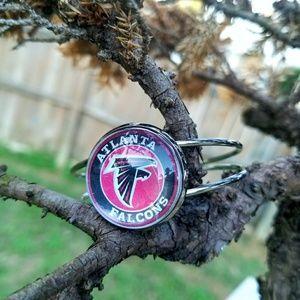 Jewelry - Atlanta Falcons Cuff Bangle